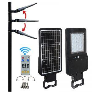 lampione solare stradale led per esterno