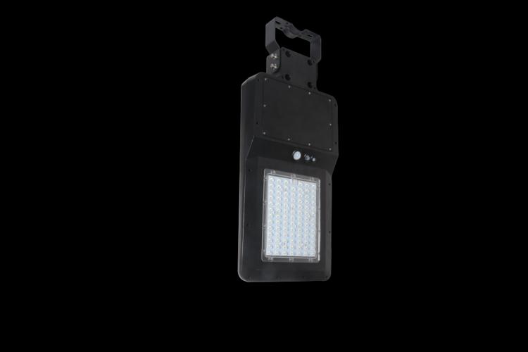 lampione con sensore di movimento solare