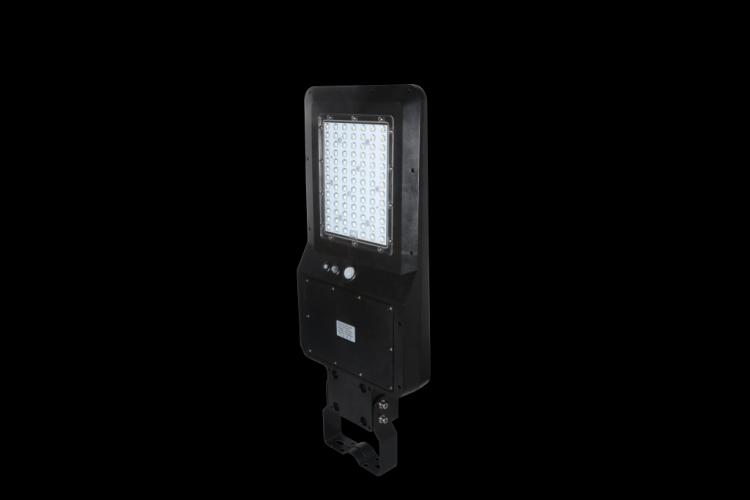 lampione led solare slim stradale