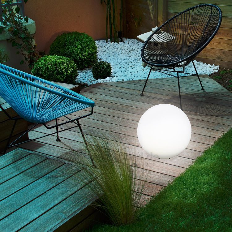 lampada solare decorativa per resort