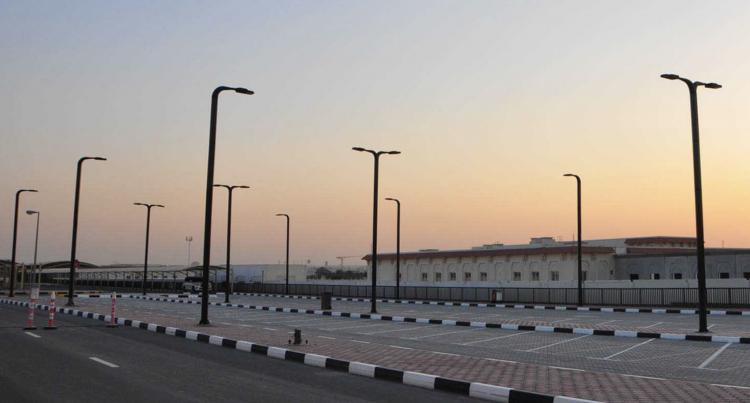 lampioni solari con pannello verticale