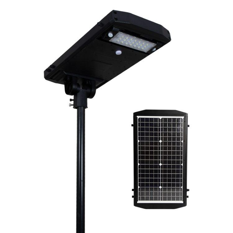 lampione solare fotovoltaico stradale