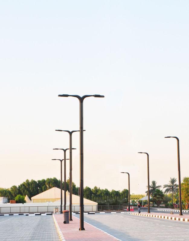 lampione solare per parcheggi
