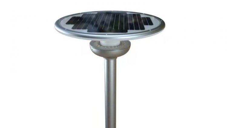 Lampione Solare led per parcheggi ville