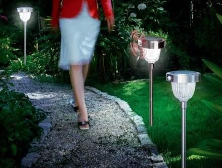 Lampioncini da Esterno Energia Solare per illuminazione viali