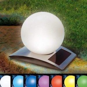 Lampada per decorazione esterna con 8 colori differenti