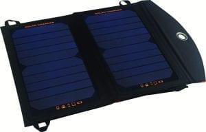 Caricabatterie con pannello fotovoltaico da 12 watt, no batteria