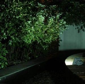 Illuminazione nottura con faro da esterno energia solare,500 lumen luce fredda