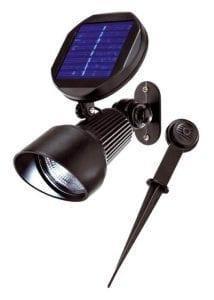 Faretto Solare a Led disponibile a luce fredda o luce calda