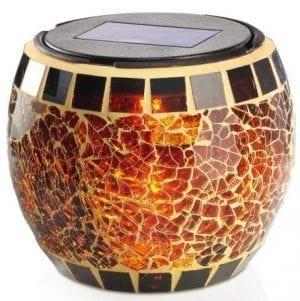Lampada decorativa ad energia solare effetto candela