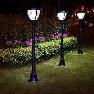 Lampioncino ad energia solare da giardino stile classico for Lampioni per esterno