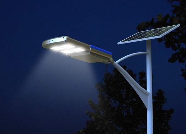 Lampioni Da Giardino Solari : Lampioni da esterno ad energia solare: lampione led ad energia