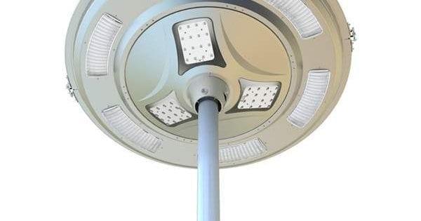 Plafoniere Rotonde Da Esterno : Lampioni solari stradali illuminazione strade piazze parcheggi