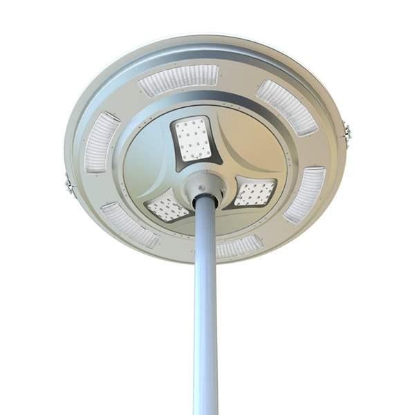Lampione ad energia solare a led per esterno 3000 lumen for Filtro per laghetto ad energia solare