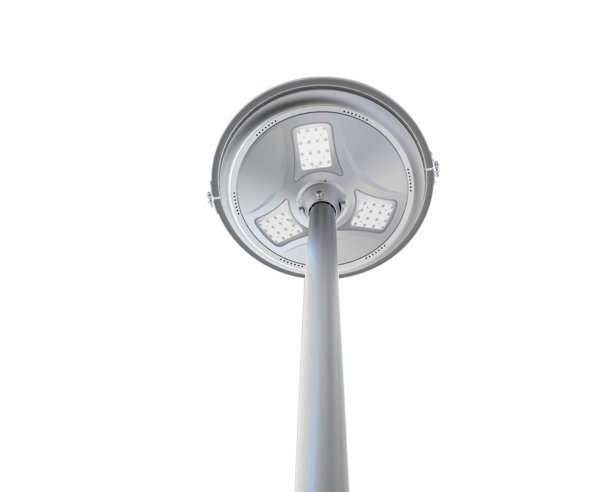 Lampione per esterno solare a led 1500 lumen ecoworld for Filtro per laghetto ad energia solare