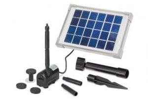 Pompa Solare per laghetti e stagni