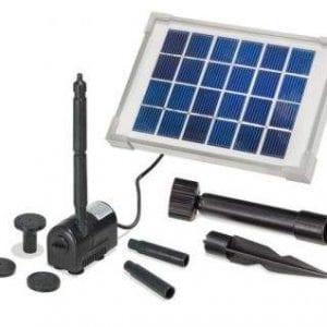 Pompa solare per laghetti e stagni ecoworld for Pompa filtro laghetto solare