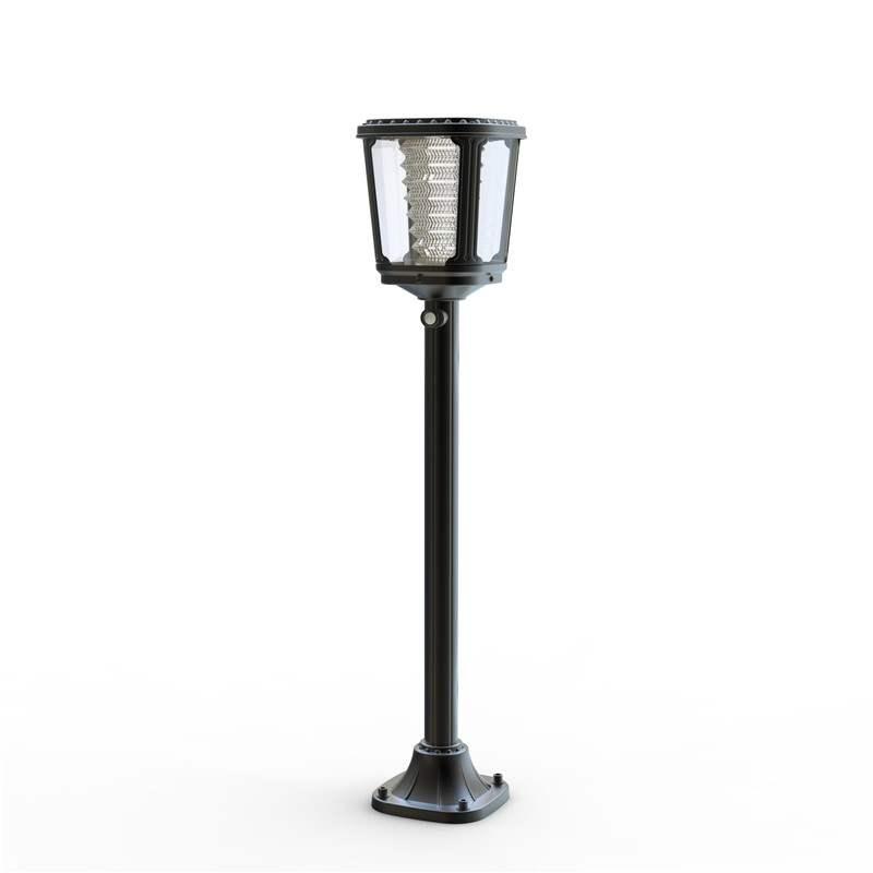 Lampioncino da giardino a led ad energia solare ecoworld for Lampioni per esterno