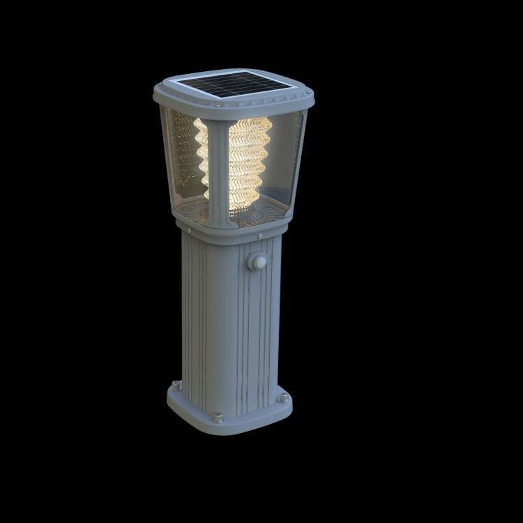 Lampioncino da Giardino ad energia solare, luce calda e sensore di movimento.
