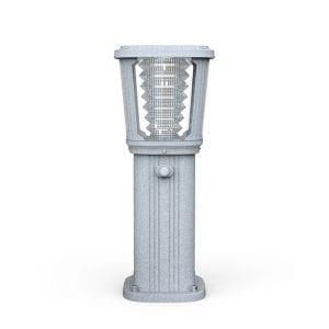 Illuminazione Giardino con lampioncino ad energia solare con sensore di movimento