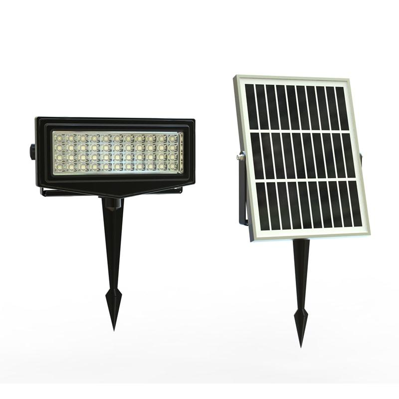 Pannello Solare Per Faretti : Faretto led esterno rgb solare ecoworld shop