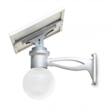 Lampione per Esterno con pannello fotovoltaico orientabile e telecomando