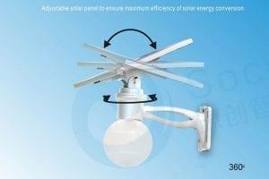 Plafoniere Per Lampioni Stradali : Lampione ad energia solare moon1500 ecoworld shop.it