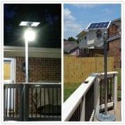 Illuminazione da Esterno Con Lampione Solare a Led