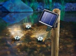 Faretti Solare a Led Immergibili