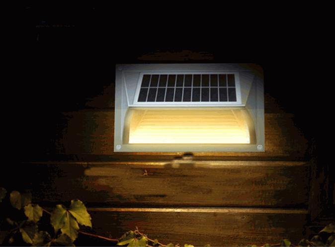 Segnapasso a led solare da esterno ecoworld shop.it
