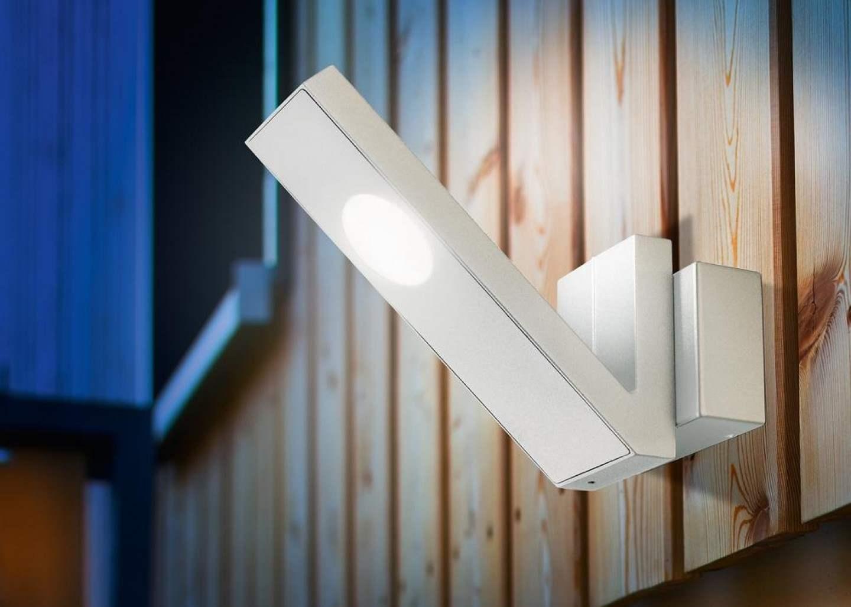 Lampada da parete a led per esterno ecoworld shop.it