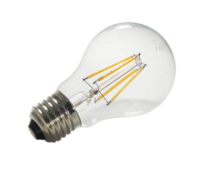 Lampadina led 6 watt con filamento e 27 ecoworld for Lampadine led 60 watt