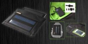 Porta tablet solare per ricaricare il tuo tablet